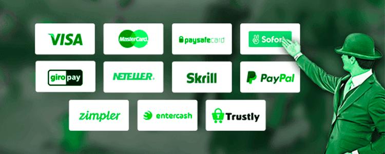 Mr Green Erfahrungen Zahlungsmethoden