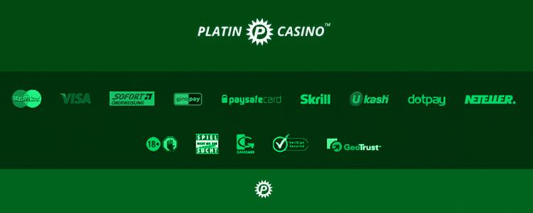 Platin Casino Zahlungsmethoden Erfahrungen