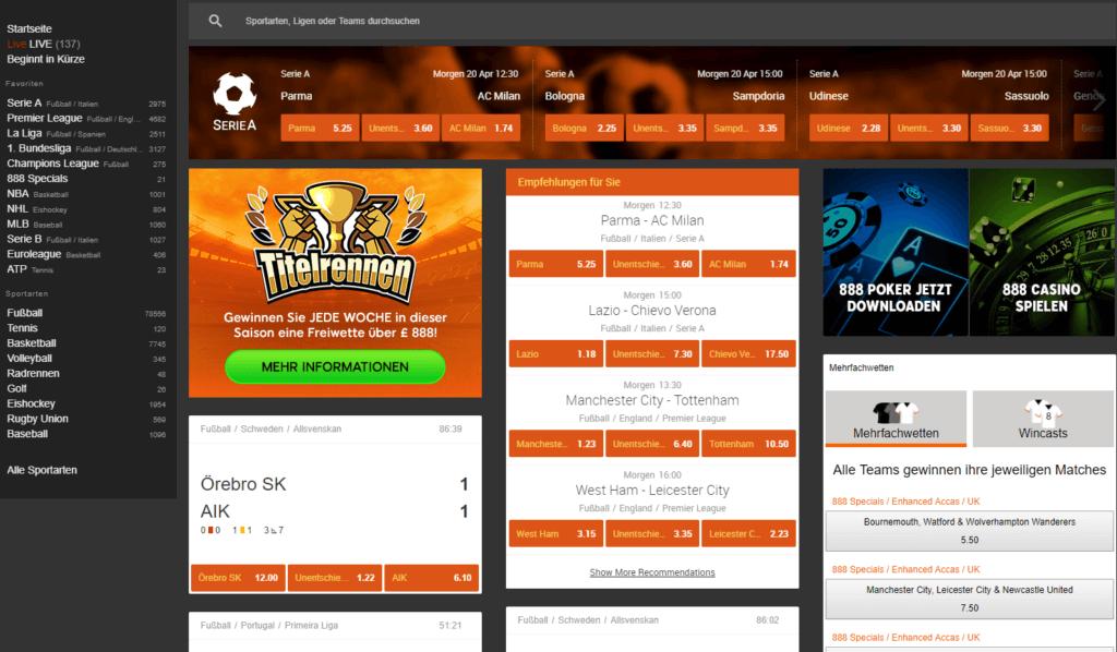 888 Casino Sportwetten Erfahrungen