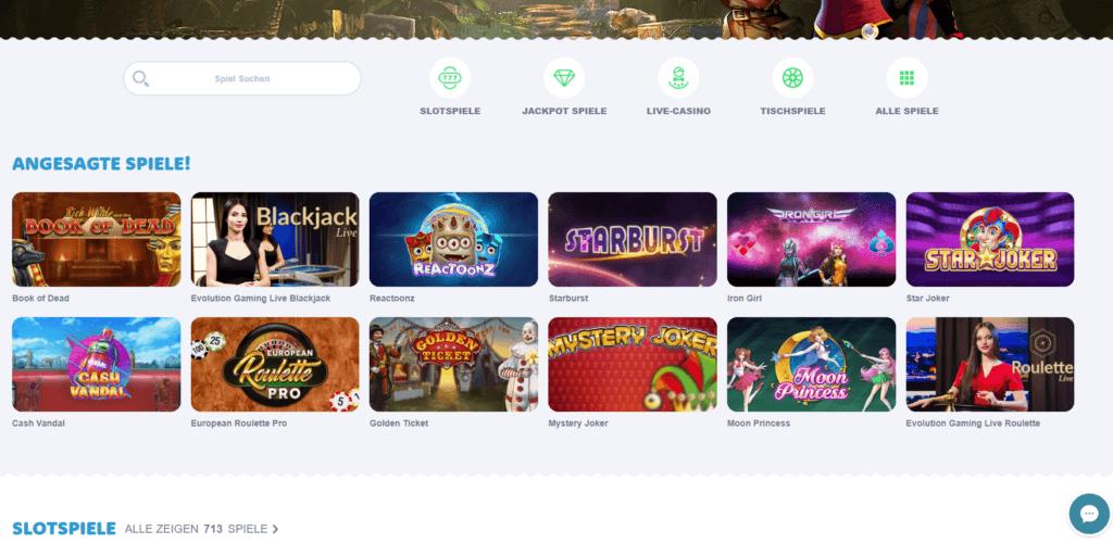 Casino Room Spielauswahl Erfahrungen