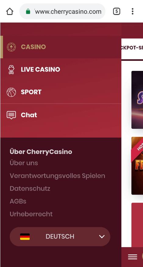 CherryCasino App Erfahrungen