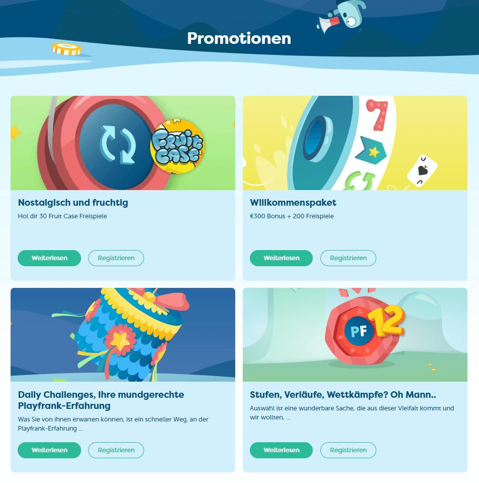 PlayFrank Erfahrungen VIP Programm