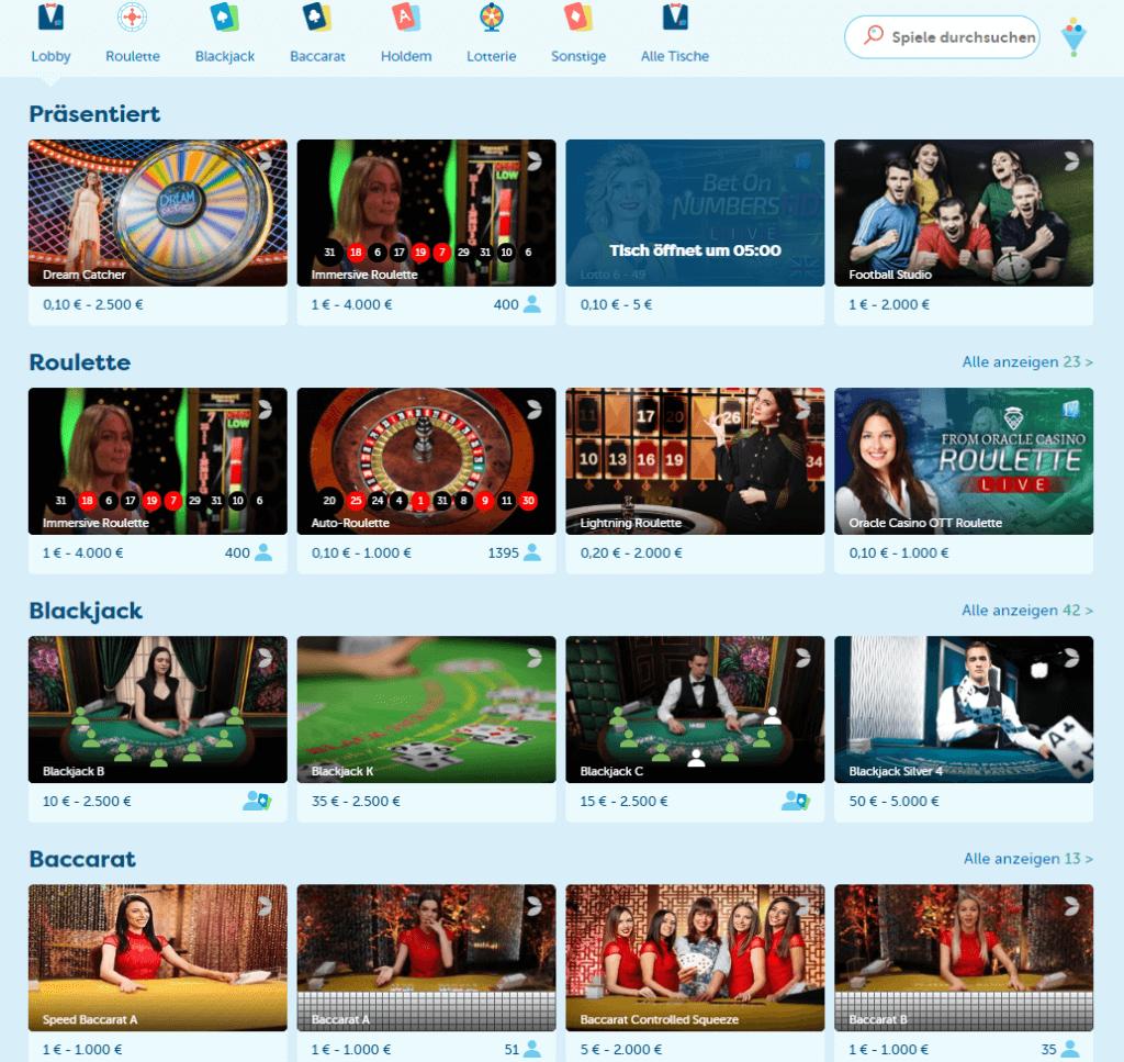 PlayFrank Live Casino Erfahrungen