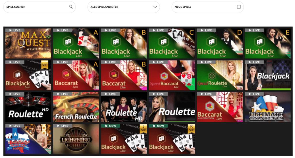 Shadowbet Live Casino Erfahrungen
