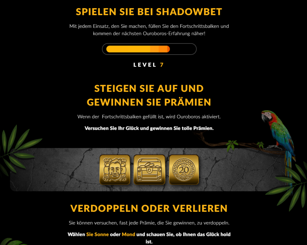 Shadowbet VIP Erfahrungen