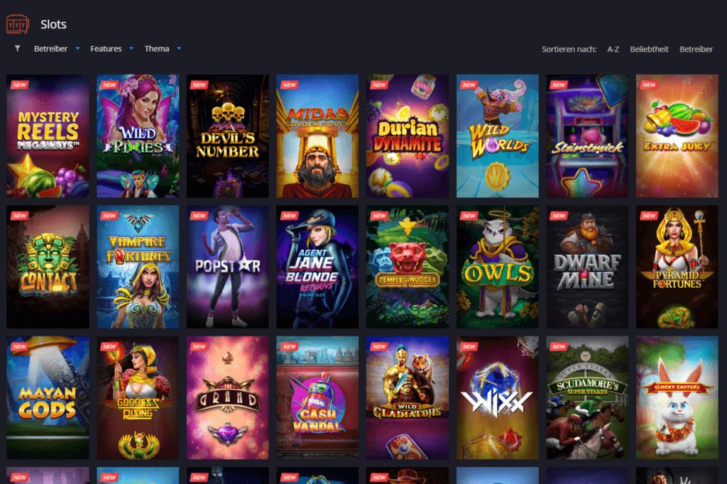 Twin Casino Spielauswahl Erfahrungen