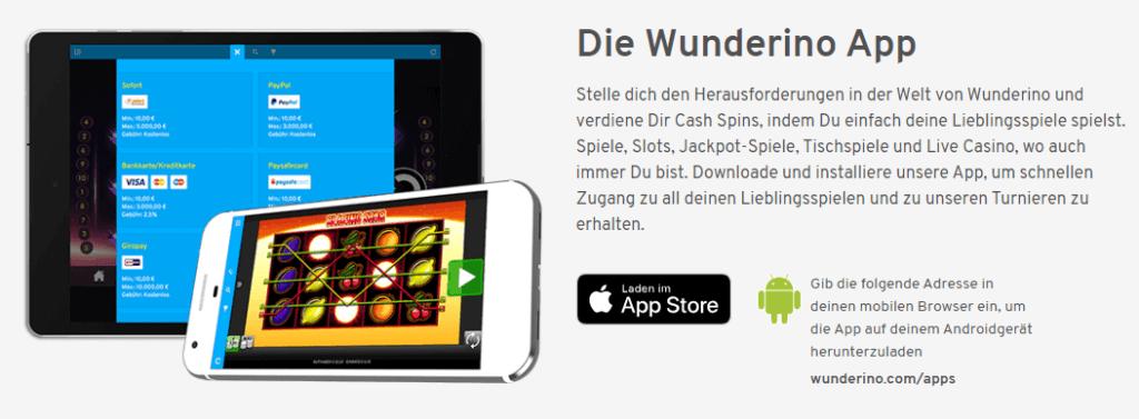 Wunderino App Erfahrungen