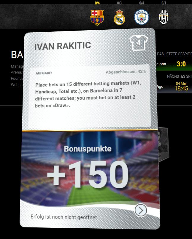 1xBet Sportwetten VIP Gamification