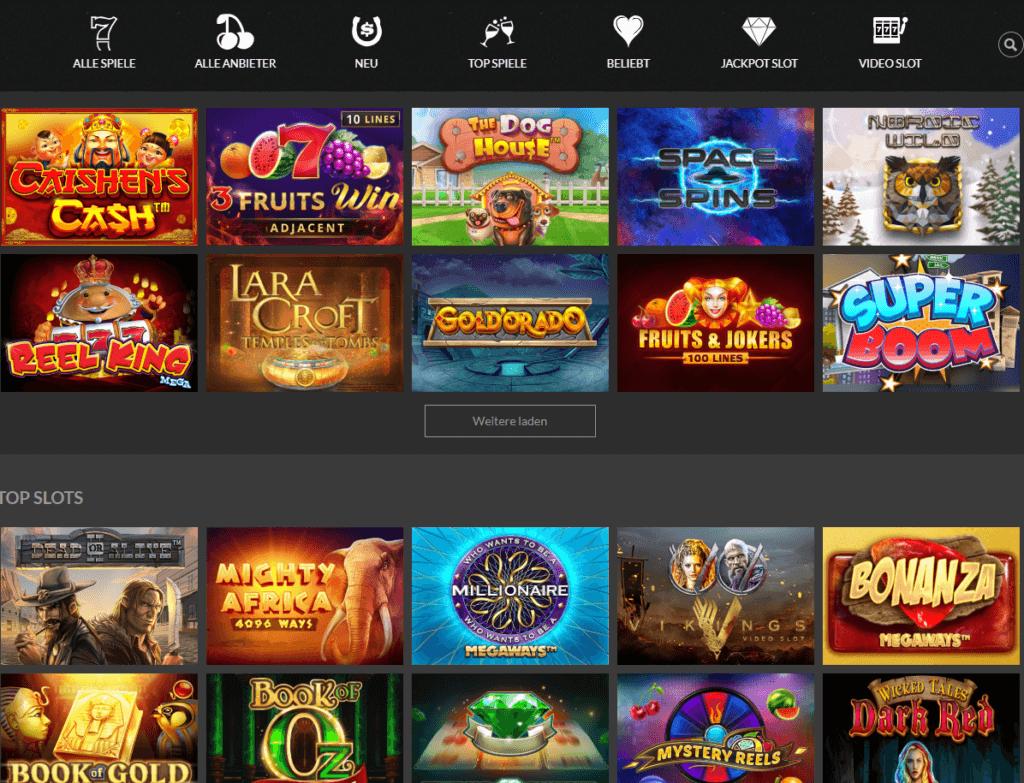 Bonkersbet Casino Spielauswahl Erfahrungen