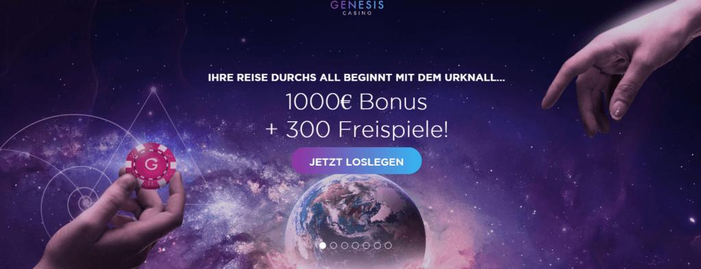 Genesis Casino Bonus Erfahrungen