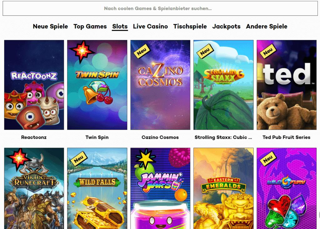 High Roller Casino Spielauswahl Erfahrungen