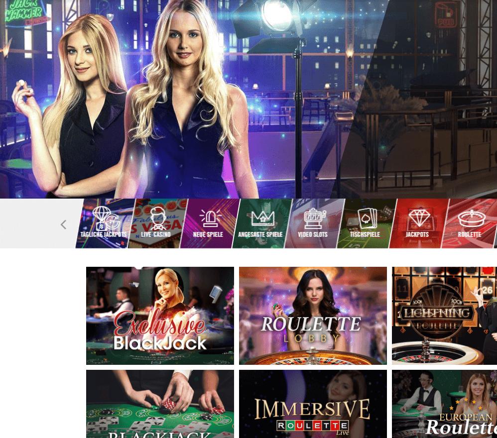 Vegas Hero Live Casino Erfahrungen