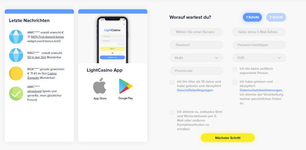 LightCasino Erfahrungen Fazit