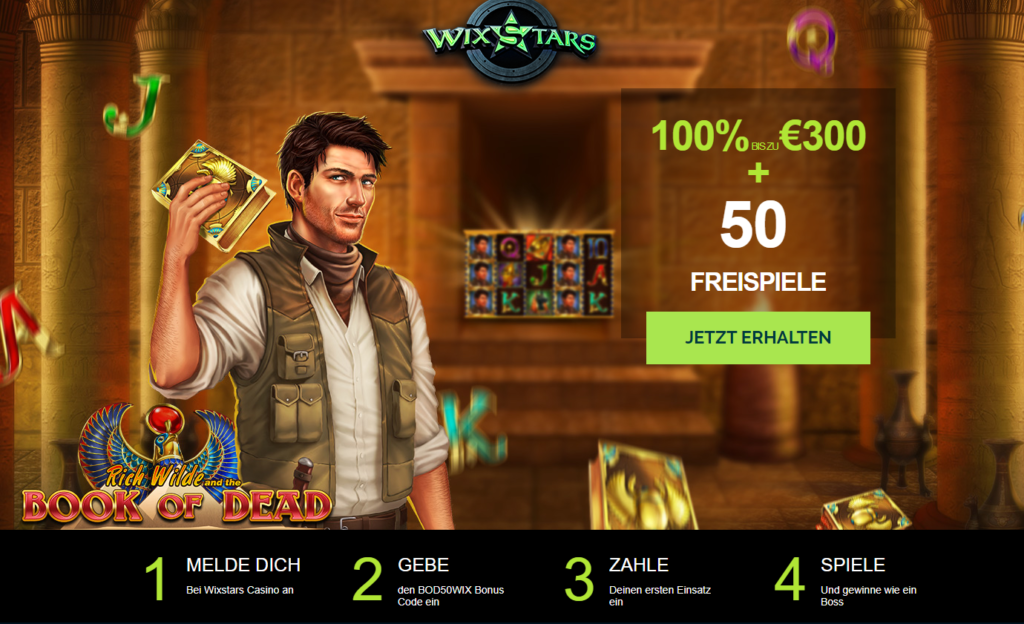 Wixstars Casino Bonus Erfahrungen