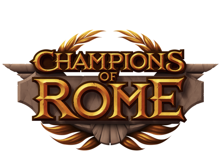 Champions of Rome Slot Logo