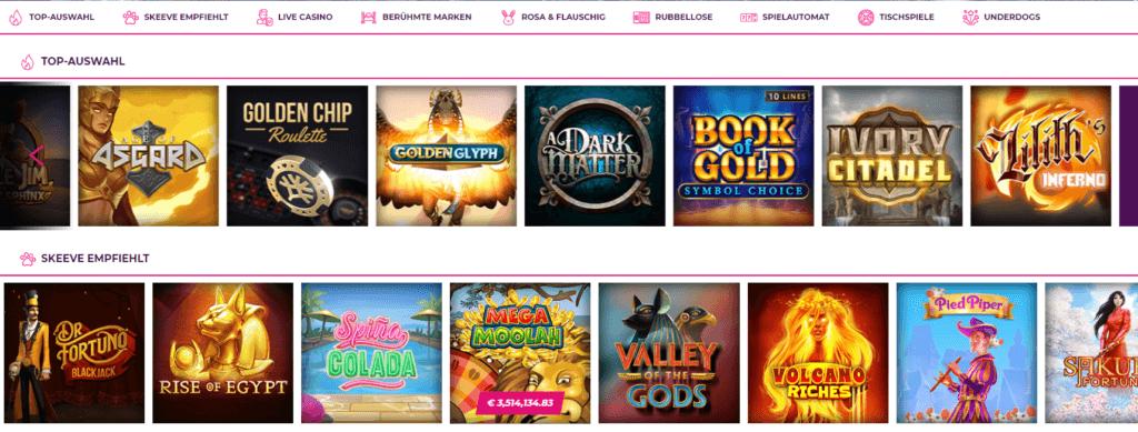 Yobetit Casino Spielangebot