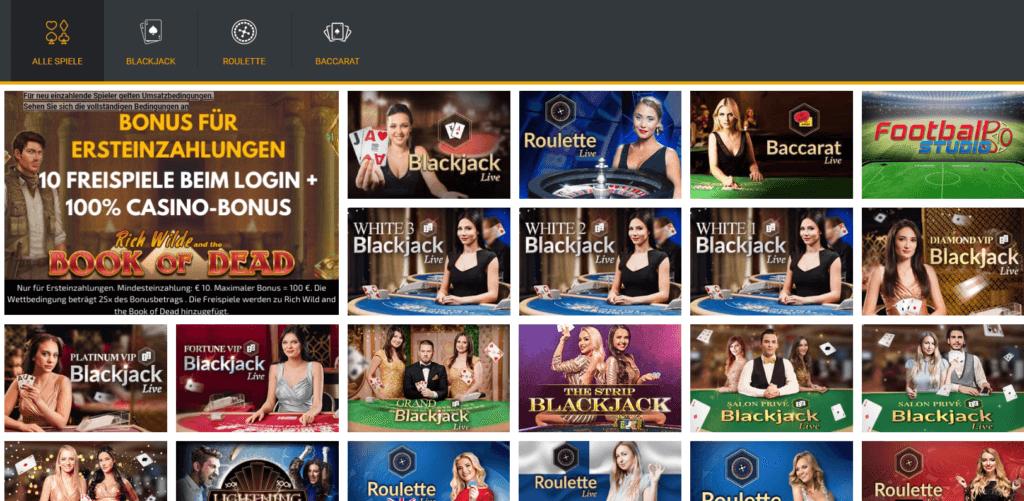 Trada Live Casino