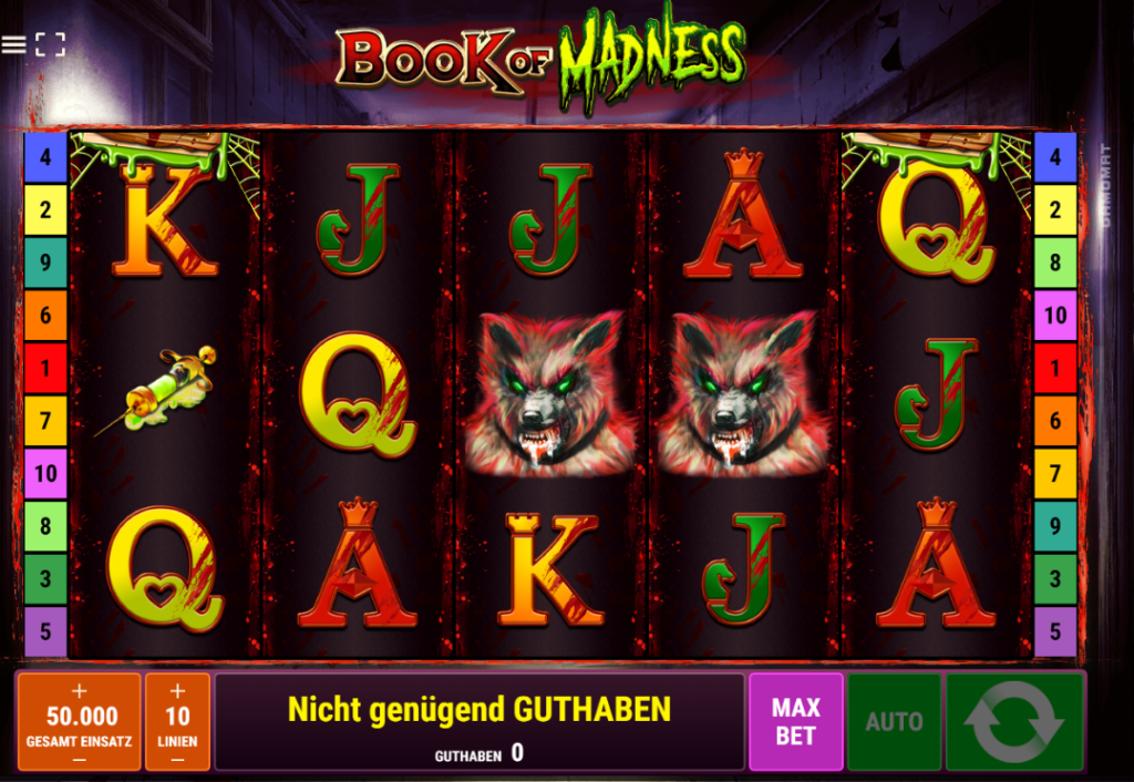 Book of Madness Slot
