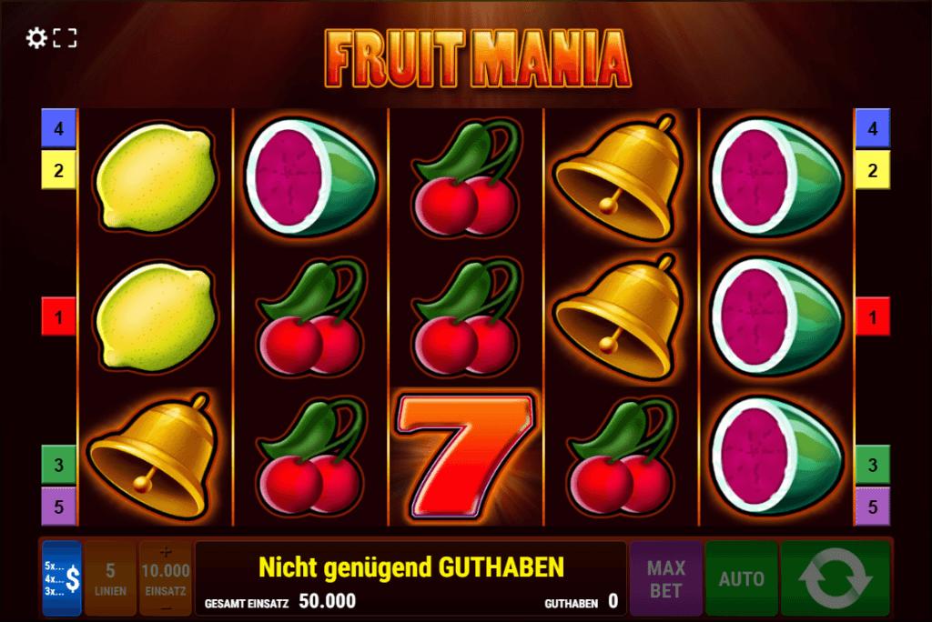 Fruit Mania Slot
