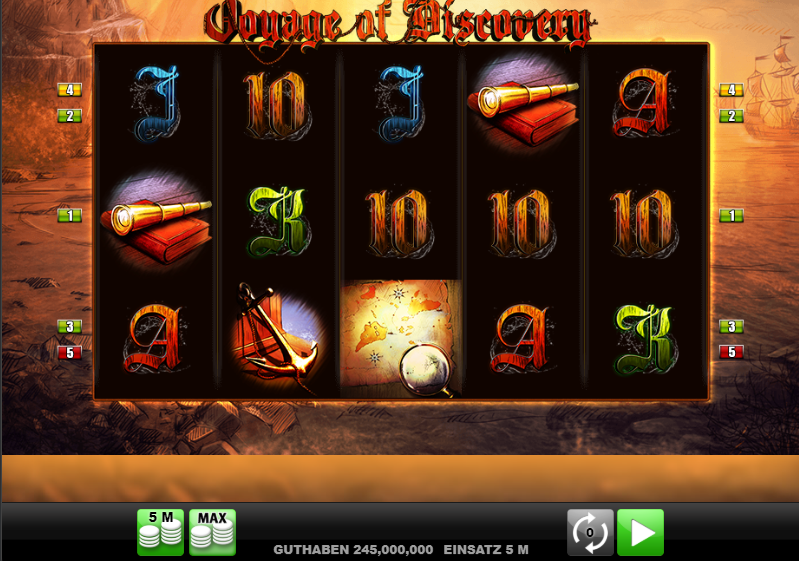 Voyage of Discovery Slot